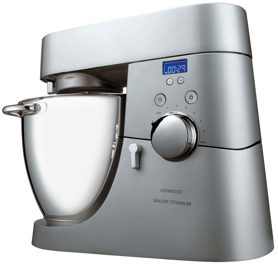 Kenwood Chef Major serie Titanium KM040: la recensione completa