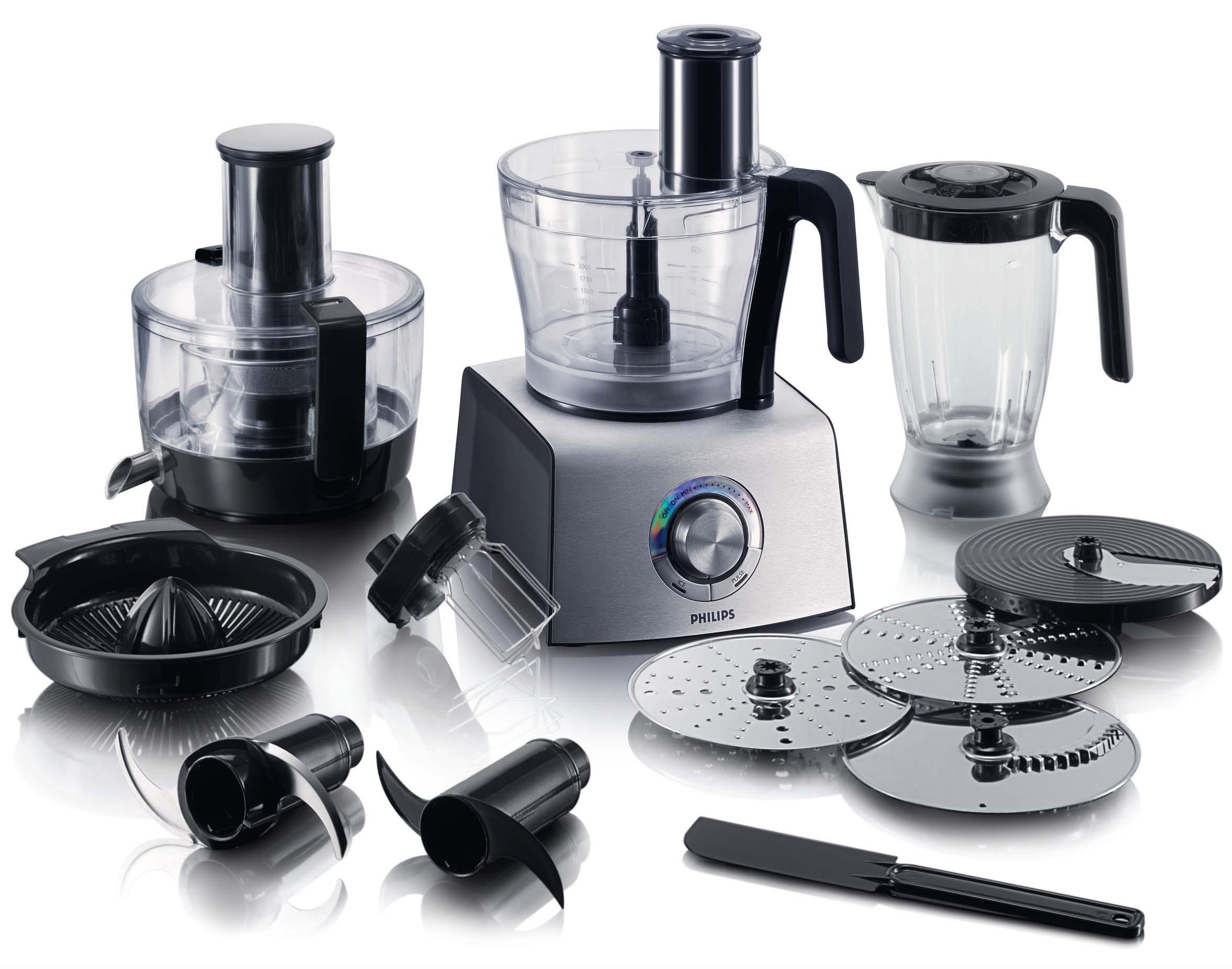 Philips hr7775 00 scopri l 39 iper accessoriato philips hr7775 00 - Robot da cucina bialetti ...